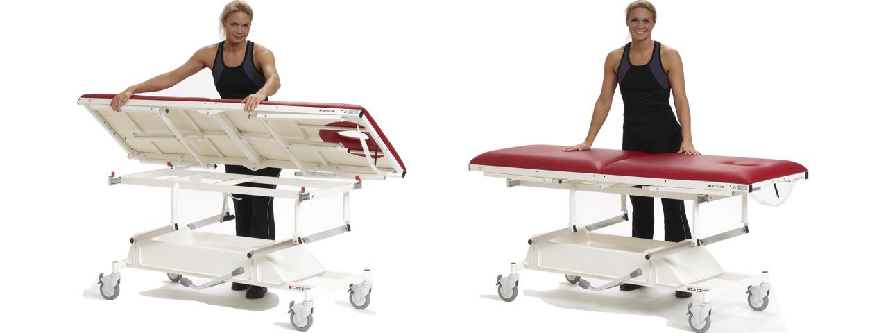Berömda Tarsus - massagebänkar, behandlingsbänkar och medicinska möbler XT-23